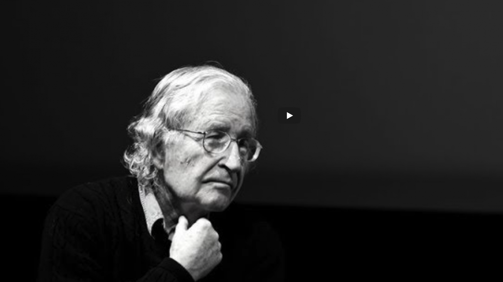 Noam Chomsky – Civilisation 2018