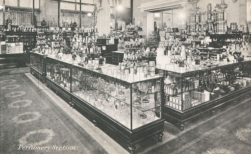 Perfumery section in Selfridges department store